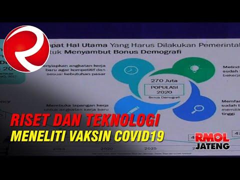 Kementrian Riset dan Teknologi Meneliti Vaksin Untuk Virus Corona atau COVID 19