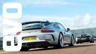 Porsche 911 GT3 v McLaren 570S Track Pack - DEADLY RIVALS by EVO Magazine