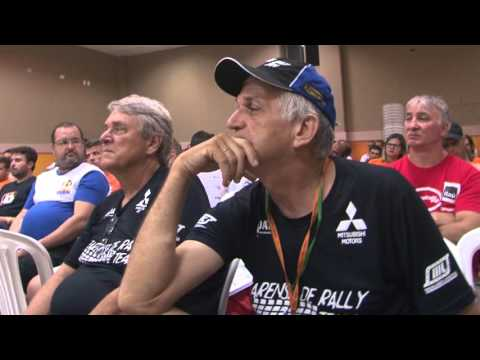 Briefing e Largada do 2� Dia de Rally Cerapi� 2016