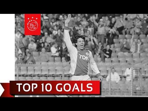 i 10 goal più belli di marco van basten con la maglia dell'ajax!