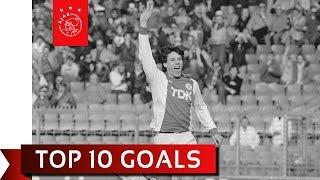 Die 10 schönsten Treffer des Marco van Basten