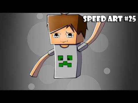 SpeedArt Minecraft [TsmSkiper] #25