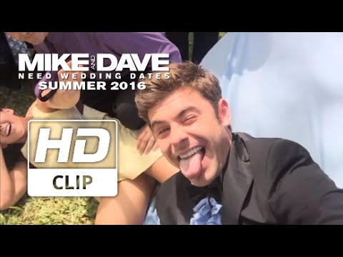 Mike and Dave Need Wedding Dates (Featurete 'Zac Efron Can't Stop Taking Selfies')