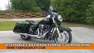 7. New 2014 Harley Davidson CVO Road King Motorcycles for sale - Zephyrhills, FL