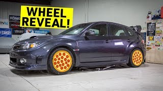 The ABANDONED STI's New Wheels Are PERFECT