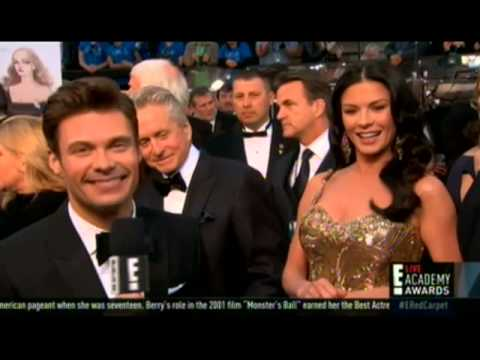 WATCH: Did Ryan Seacrest deny Catherine Zeta-Jones a mani-cam moment?