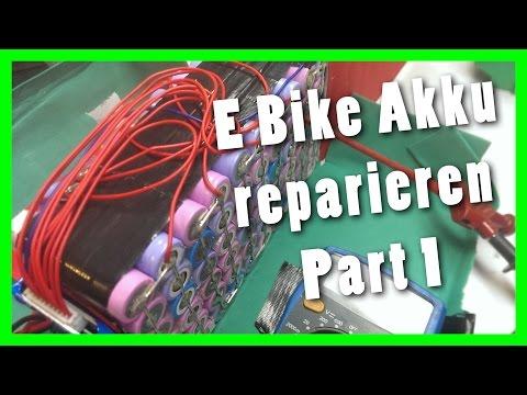 E Bike Akku reparieren Part 1 - Prüfen und nachladen