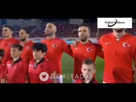 ALBANIANS BOOING AND WHISTLING NATIONAL ANTHEM OF TURKEY