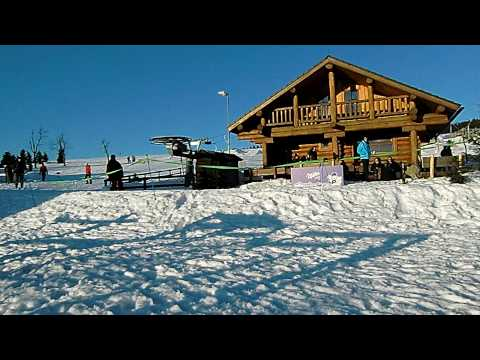 Ski areal Novako Boží Dar - Krušné hory 2009