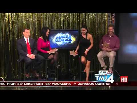 Packers voice Larrivee, dance expert review Driver's rumba on DWTS