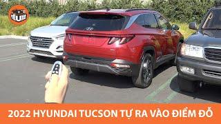 Hyundai Tucson 2022 tự ra vào điểm đỗ như BMW, Mercedes