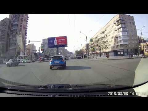 Авария в Питере на Ленинском проспекте