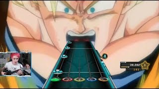 Video Goku goes super saiyan 3 for the first time... on Guitar Hero! MP3, 3GP, MP4, WEBM, AVI, FLV Agustus 2018