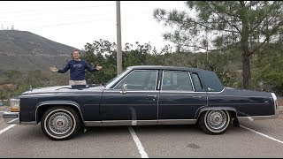 Video The 1989 Cadillac Brougham Is the Best Cadillac From 30 Years Ago MP3, 3GP, MP4, WEBM, AVI, FLV Juli 2019