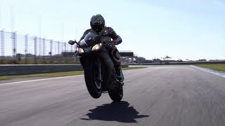 6. 2013 Aprilia RSV4 R ABS and RSV4 Factory APRC ABS Estoril review teaser