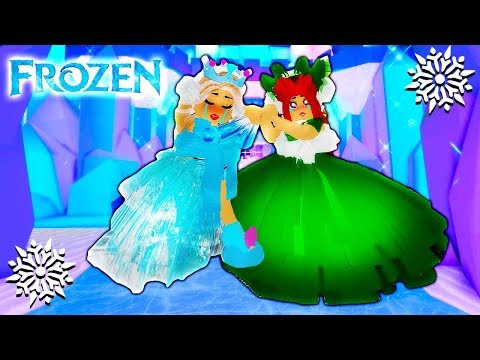 ELSA & ANNA MORNING ROUTINE IN ROYALE HIGH SCHOOL!  Roblox Roleplay  A Frozen Story  Roblox Movie