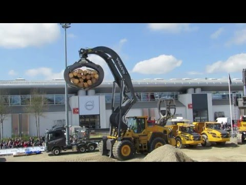 Volvo Construction Equipment Display Bauma 2016 - Part 1 - Messe München