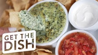 Learn How to Make Hillstone's Iconic Spinach Artichoke Dip | Get the Dish by POPSUGAR Food