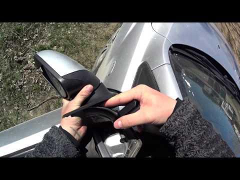 как снять зеркало заднего вида форд фокус 2 рестайлинг