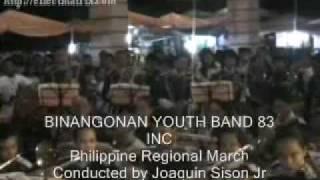 Binangonan Philippines  city photos : Philippine Regional March BINANGONAN YOUTH BAND 83 INC