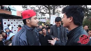 Jenesh and Nepyastra Vs Krazy Cyclop and Nasto - Raw Barz (RAP BATTLE)