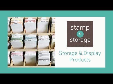 Stamp-n-Storage: Storage & Display Products