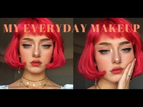 My Everyday Peachy Makeup