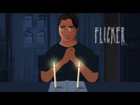 FLICKER HORROR ANIMATED SHORT FILM - HORROR STORIES HINDI URDU