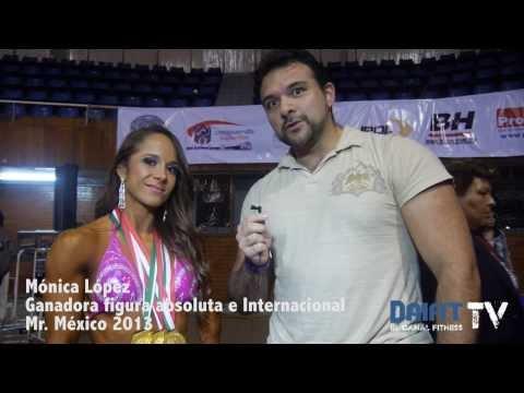 Mónica López gana fitness figura absoluta - Mr. México 2013