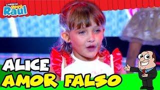 Criança canta -Aldair Playboy-  Kevinho- Wesley Safadão  - Amor Falso - YouTube TVRG ALICE
