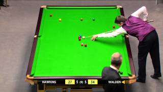 Snooker 2014 Masters-Hawkins V Walden HD