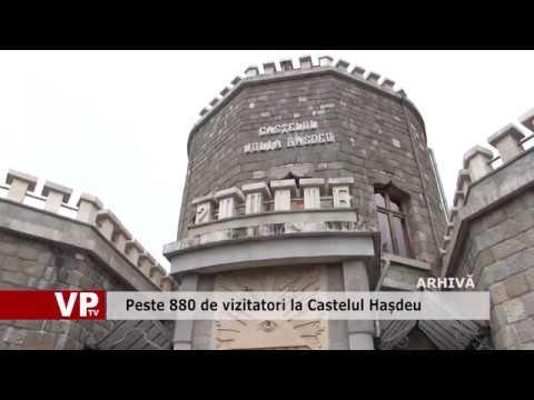 Peste 880 de vizitatori la Castelul Hașdeu