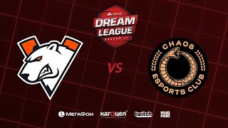Virtus.pro vs Chaos Esports Club, DreamLeague Season 11 Major, bo3, game 1 [Smile & Godhunt]