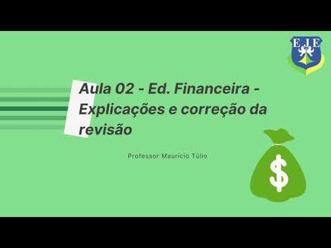 Aula 2 Educação Financeira - 7º ano