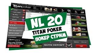 dima23 @ NL20, Titan Poker