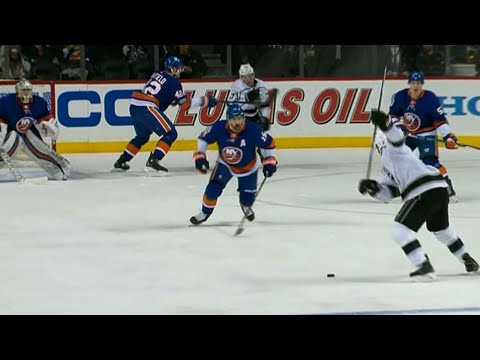 Video: Kings' Fantenberg scores after Pearson finds him with sweet feed