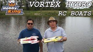 Vortex Hydro RC Race Boats (PNR)
