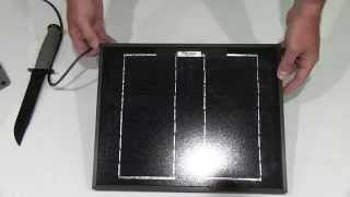 Instapark 10W High-Efficiency Mono-Crystalline Solar Panel Unboxing
