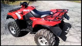 6. KingQuad 750 AXI test ride