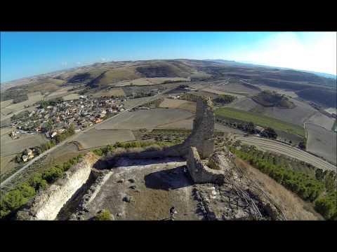 SARDINIA - flyng around castle of las plassas - RAKU HD