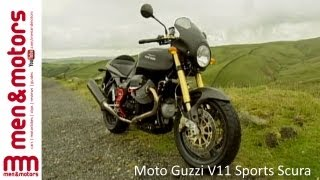 8. Review of the Moto Guzzi V11 Sports Scura