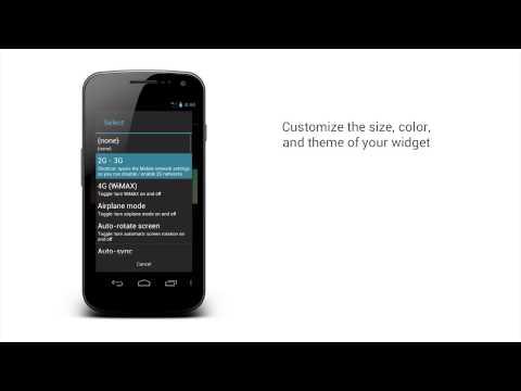 Video of Power Control Plus (widget)