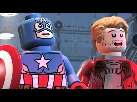 LEGO Marvel Super Heroes 2 - 100% Guide #5 - Hydra Hijinks (All Minikits)