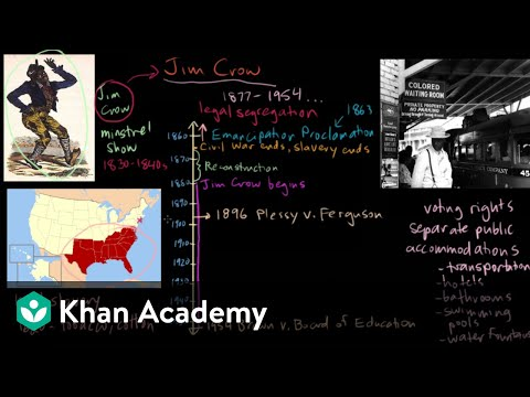 Jim Crow part 1 | The Gilded Age (1865-1898) | US History | Khan Academy