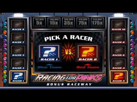 Racing for Pinks Video Slot Preview - Microgaming, November 2013
