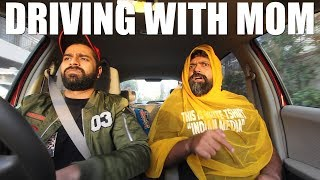 DRIVING WITH MOM Part 2 Feat. Bekaar Films | The Great Mohammad ali