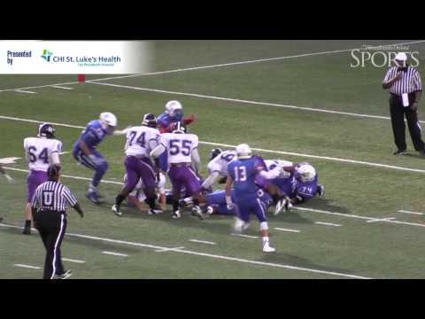 Morton Ranch vs. Oak Ridge Football Highlights