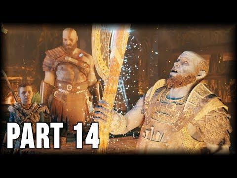 God of War - 100% Walkthrough Part 14 [PS4] – The Realm of Fire
