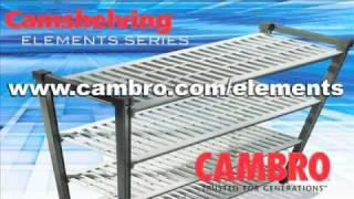 Cambro Camshelving Elements Assembly