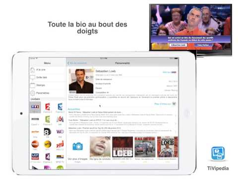 Video of TiVipedia, la Télé Augmentée